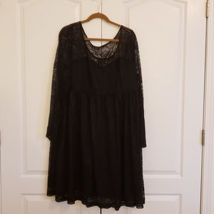 Torrid Black Lace dress NWT